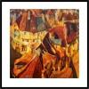 PEREVALSKY. Ref. 029-145. Glicée Lithograph 50 x 50 cm.