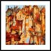PEREVALSKY. Ref. 029-156. Glicée Lithograph 50 x 50 cm.