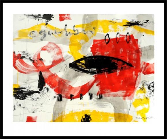 CARLES BROS. Ref. 078-021. Glicée Lithograph 50 x 60 cm.